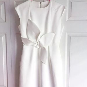 Ted Baker Cap Sleeve Dress with Bow